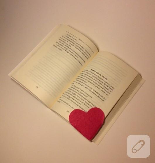 Kalp kitap ayraçları