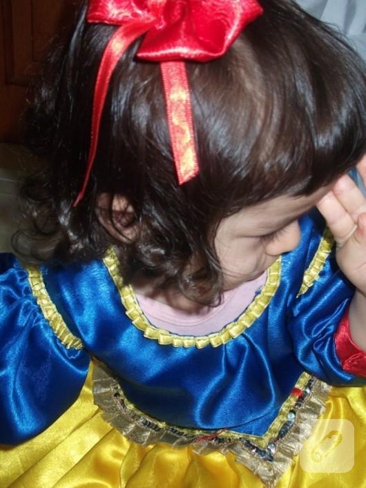 Pamuk Prenses elbisesi