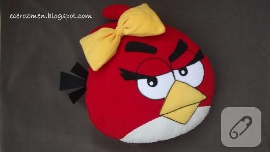 Angry Birds yastık
