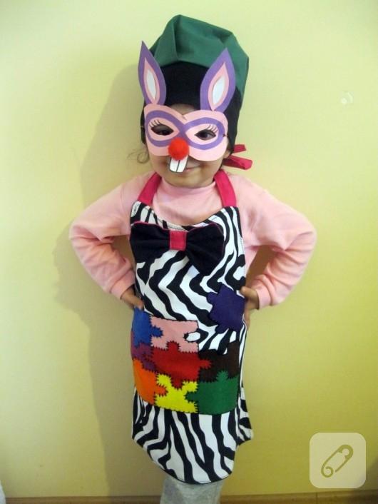 Çocuk mutfak önlüğü