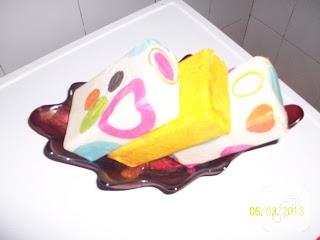 Dekupaj ile sabun süsleme