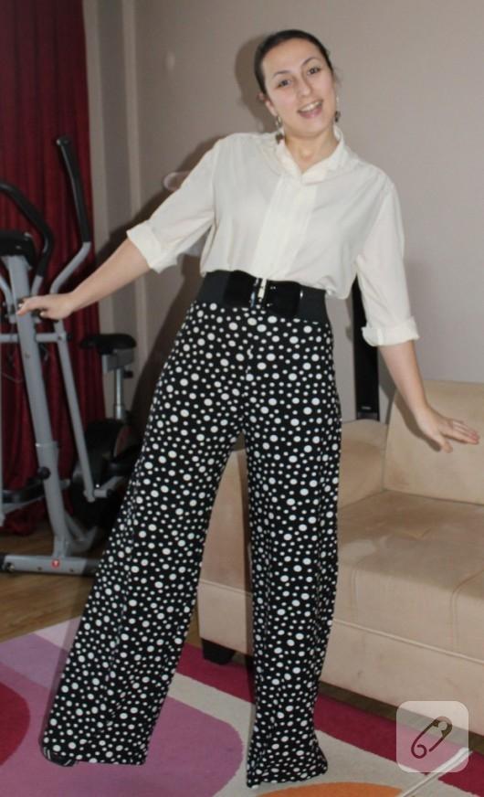Puantiyeli pantolon