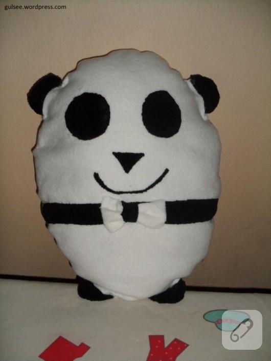 Amigurumi Yelekli Panda Yapımı - Örgü Modelleri | 706x530