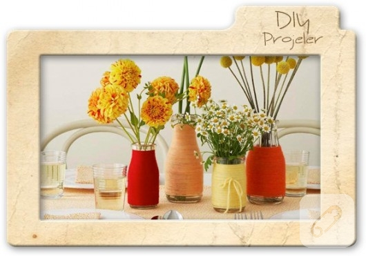 dekoratif şişeler