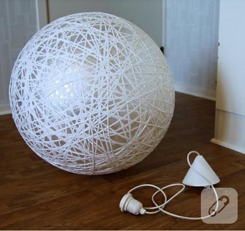 İpli lamba yapımı