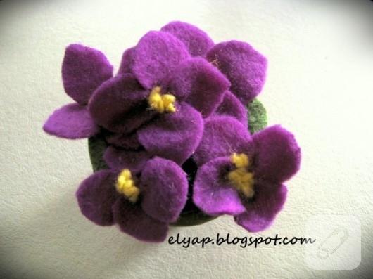 polardan çiçek yapımı