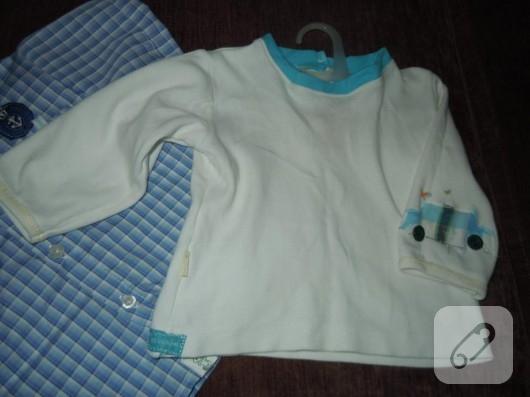 Erkek bebek tişörtü