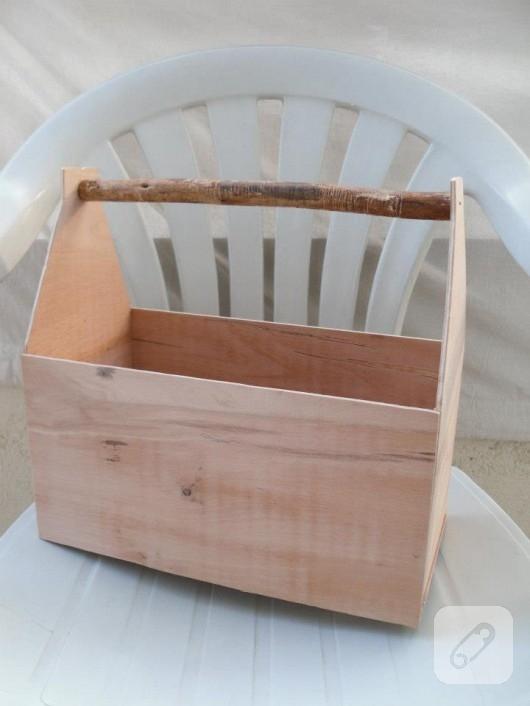 Ahşap alet kutusu yapımı