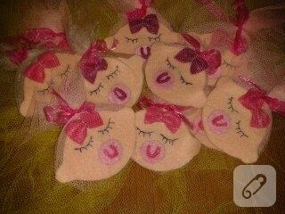 keçe bebek şekerleri