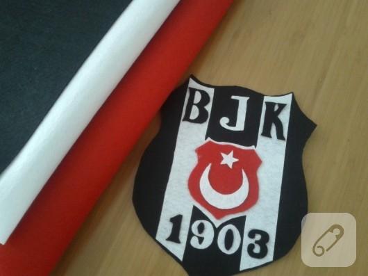 Keçe Beşiktaş amblemi