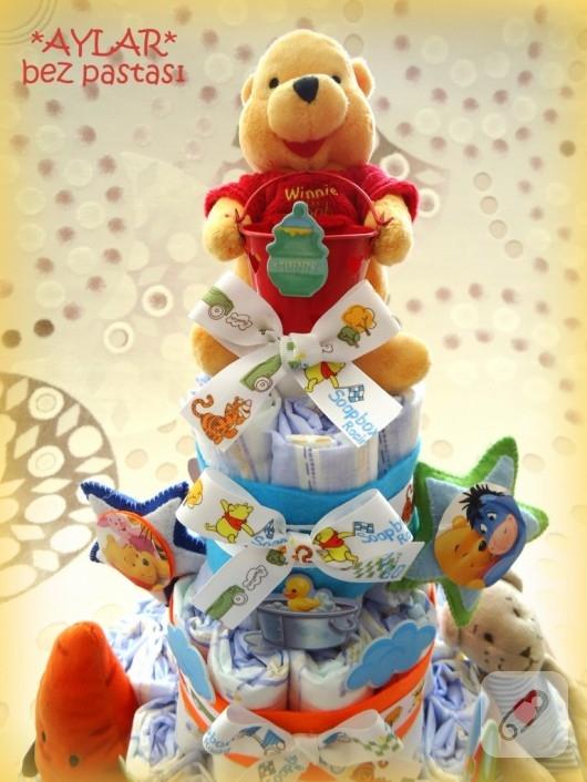 bebek bezi pastası