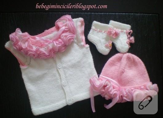Yeni doğan bebek örgüleri