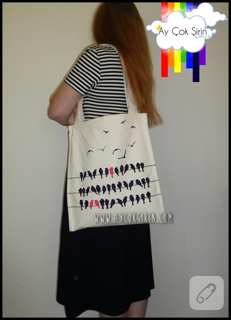 el boyaması çanta