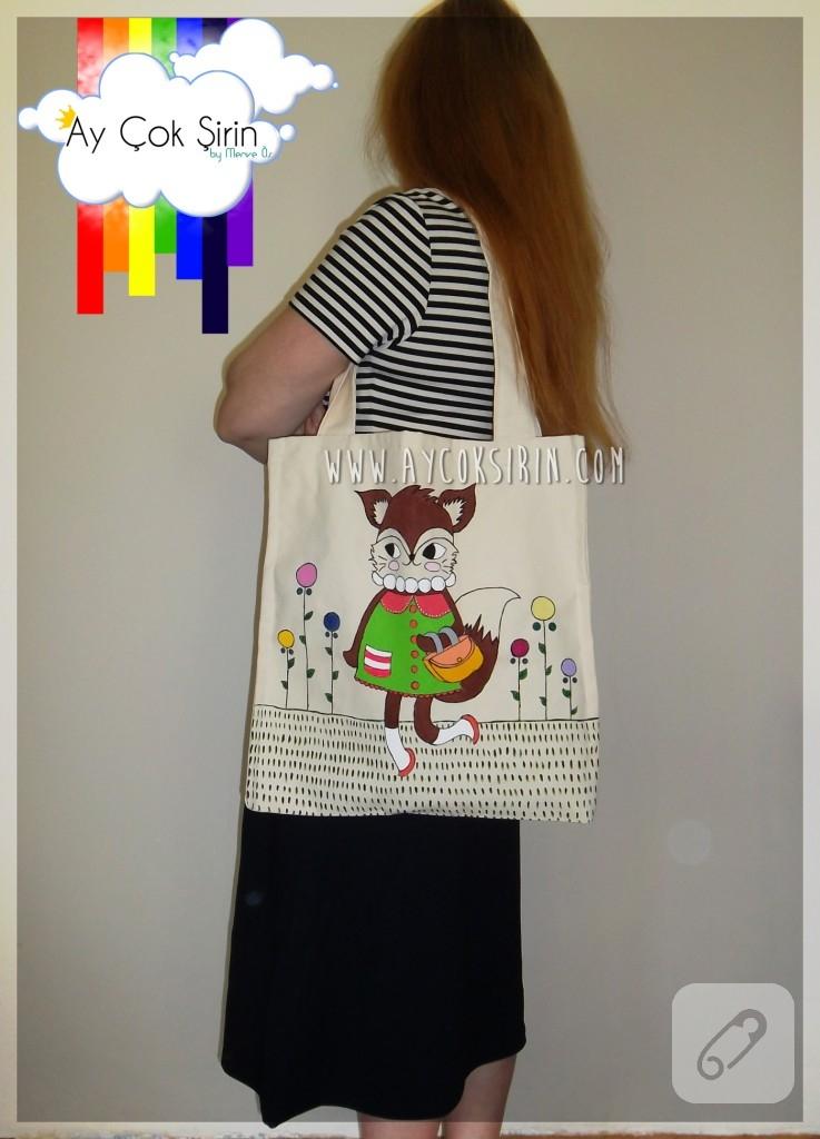 kanvas çanta