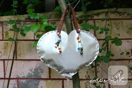 kalp çanta