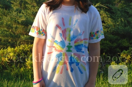 Tişört boyama fikirleri