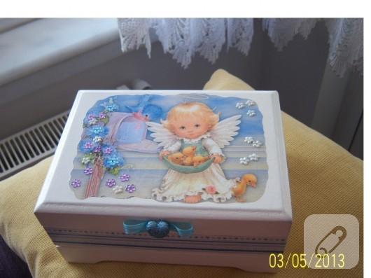 melekli takı kutusu