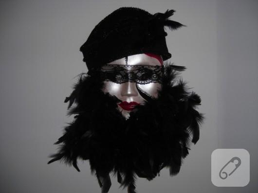 duvar süsü maske