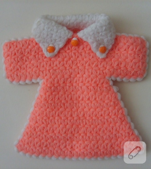 pembe örgü elbise lif modeli