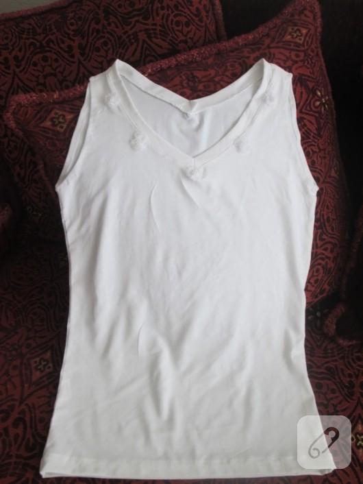 beyaz penye bluz