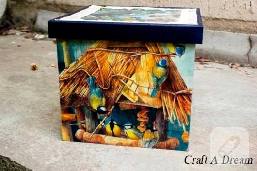 dekoratif kutu