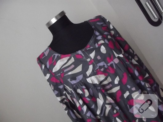 Büzgülü elbise