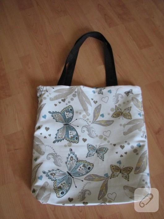 Duck kumaş çanta