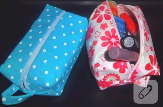 makyaj çantası yapımı