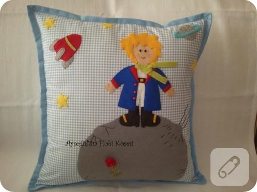 Küçük Prens temalı yastık