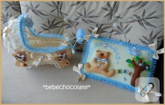 bebek şekeri sepeti