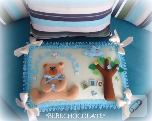 bebek takı yastığı