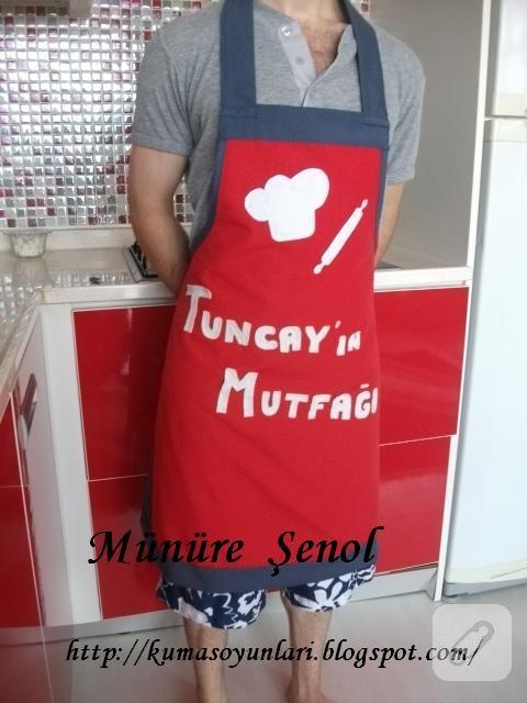 erkek mutfak önlüğü