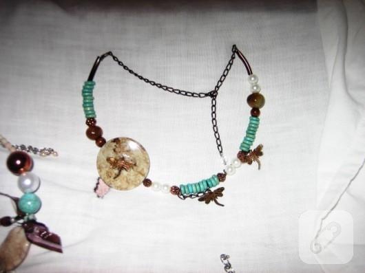 el yapımı kolye modeli
