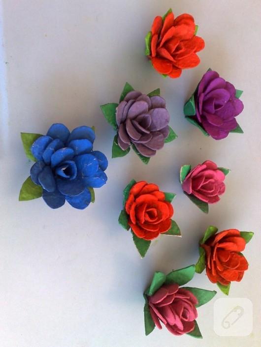 karton çiçek
