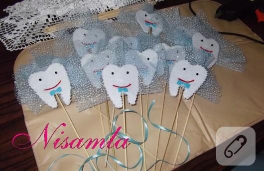 keçe diş magnet