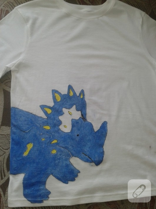 kumaş boyama tişört