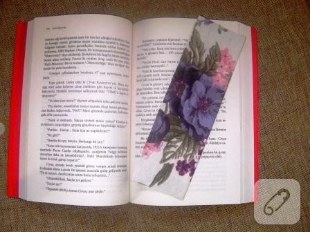 Kumaş kitap ayracı