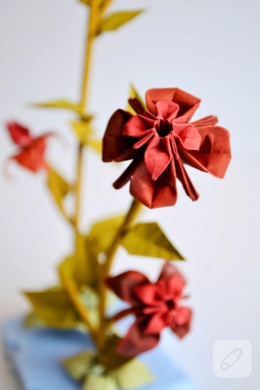 origami örnekleri origami bonsai