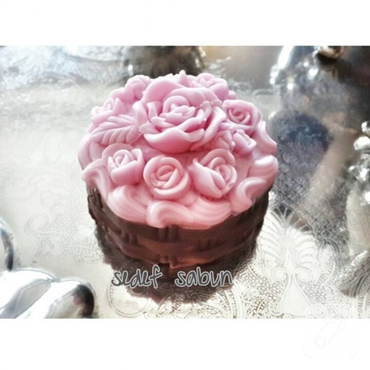 sabun süsleme cupcake