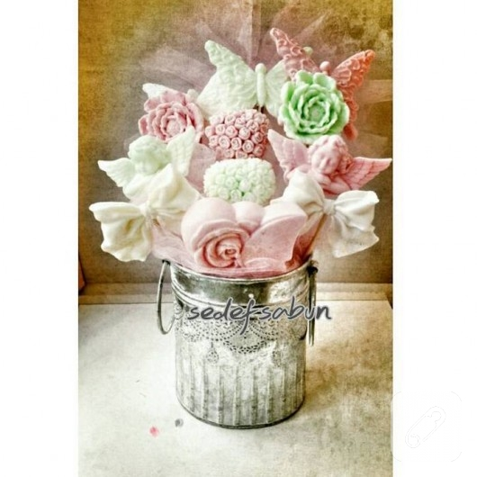 dekoratif sabunlar