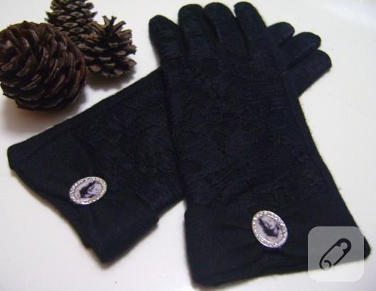 siyah eldiven
