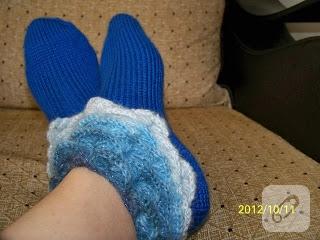 kışlık çorap modelleri