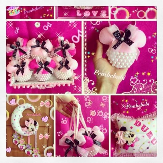 Minnie Mouse lavanta kesesi