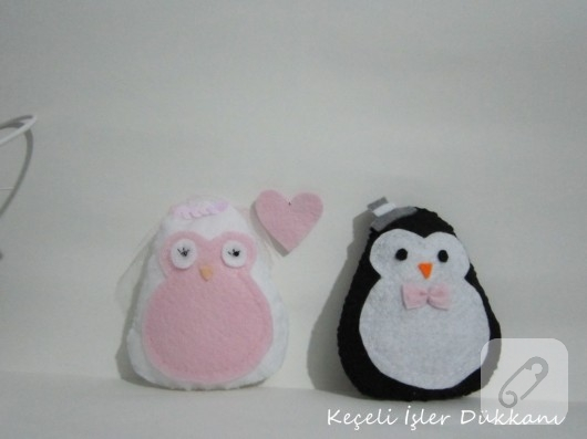 penguen keçe nikah şekeri