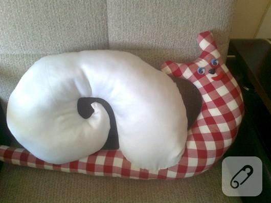 salyangoz yastık