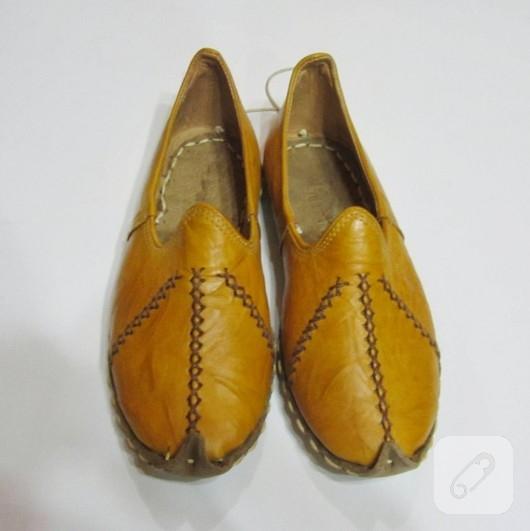 El yapımı yemeni ayakkabı