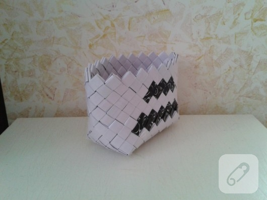 kağıttan sepet