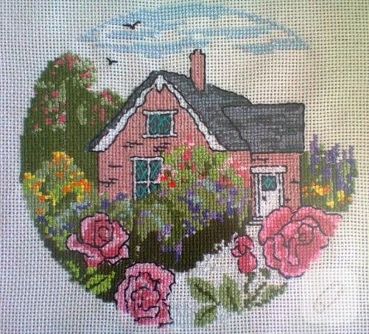 kanaviçe kır evi