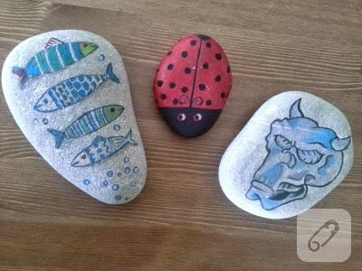 taş boyama örnekleri