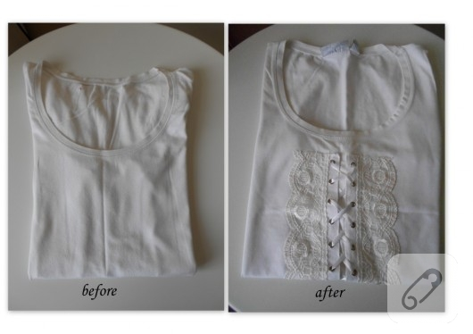 tişört yenileme